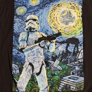 Star wars Van Gogh inspired stormtrooper t